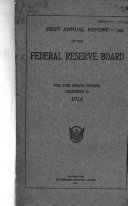 Annual Report - Board of Governors of the Federal Reserve